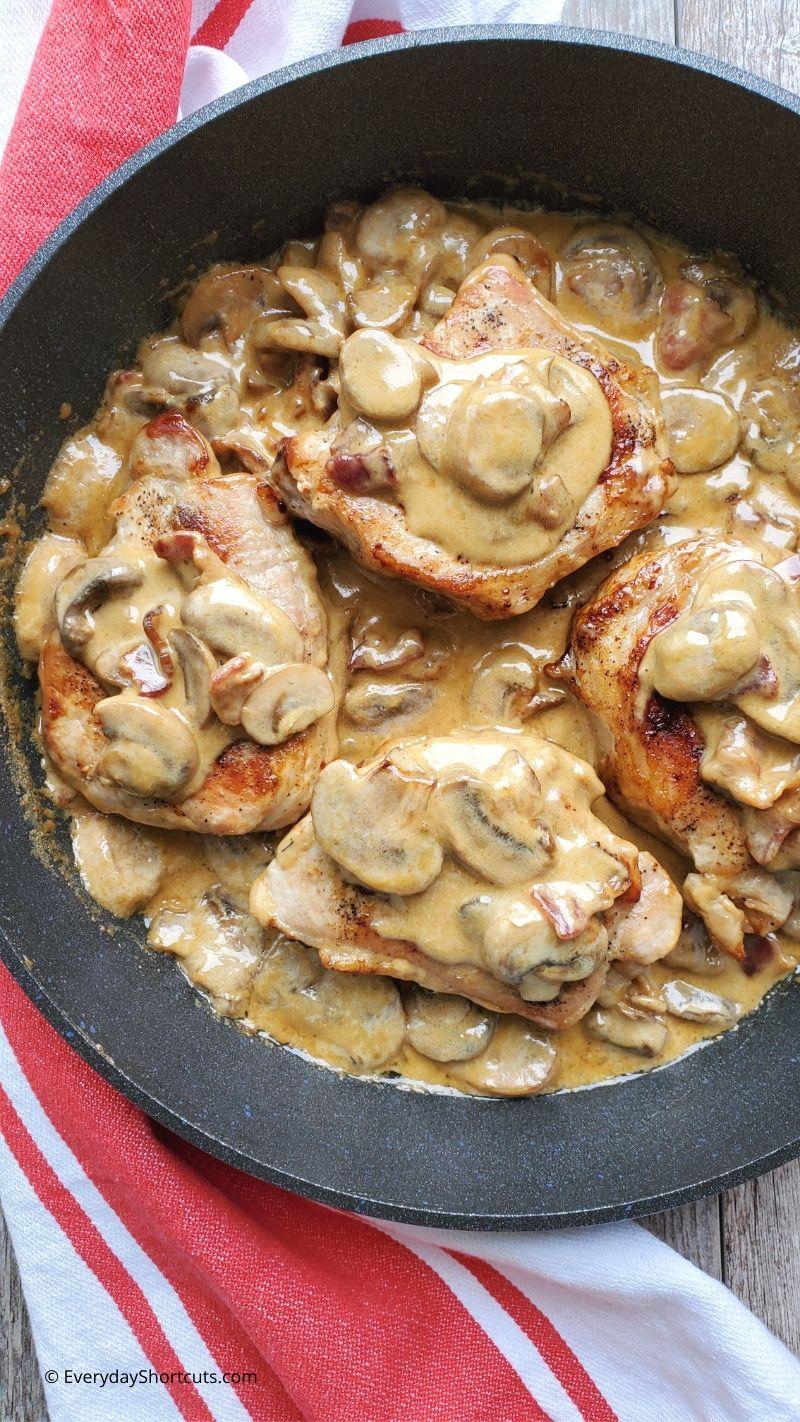 Bacon-Mushroom-Pork-Chops