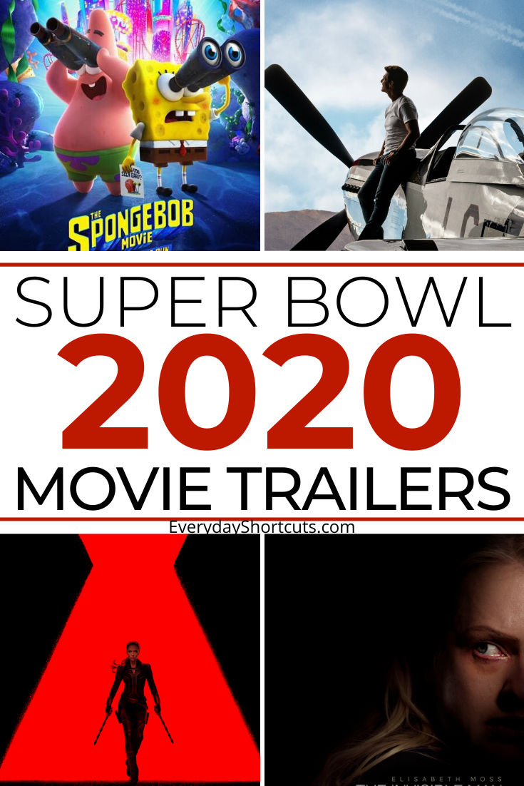super bowl 2020 movie trailers