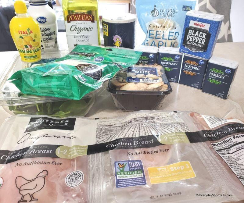 ingredients-for-creamy-chicken