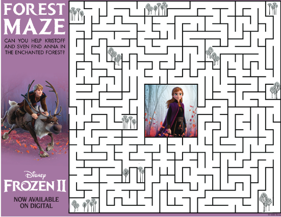 frozen-maze