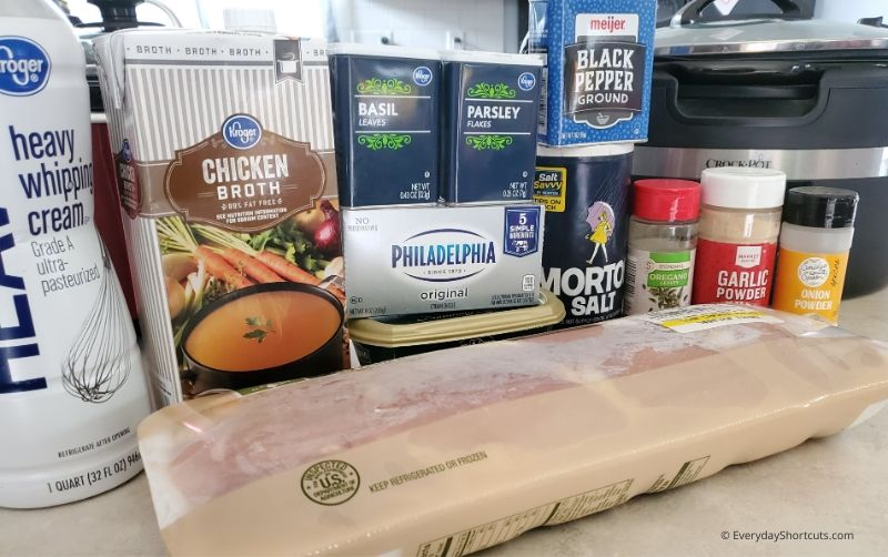 ingredients-for-garlic-chicken-soup