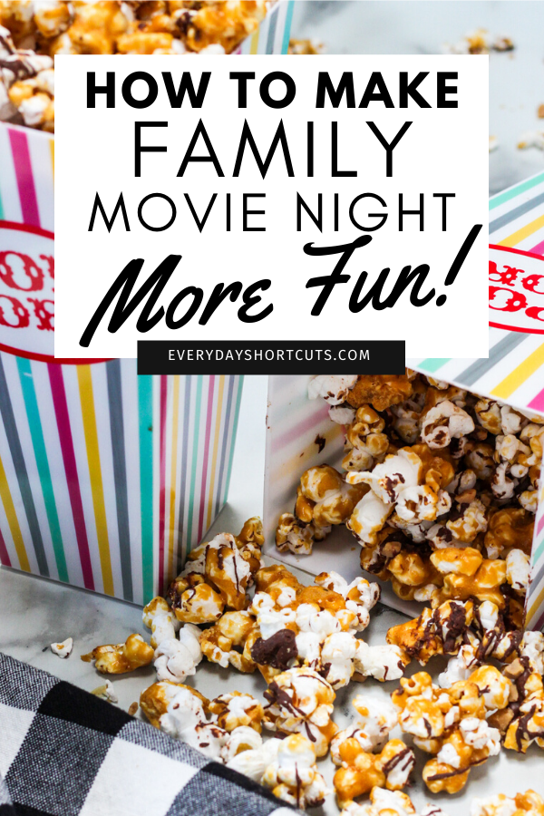 How to Make Family Movie Night More Fun