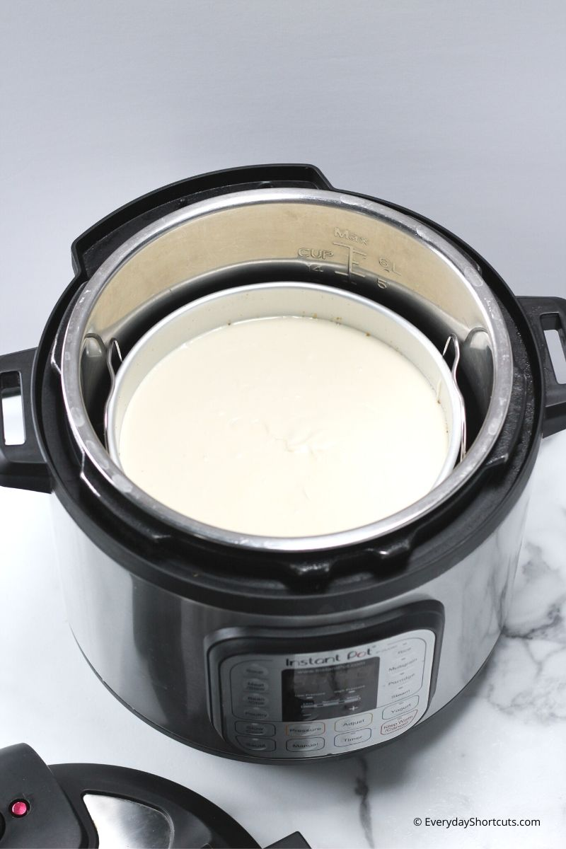 how-to-put-cheesecake-in-instant-pot
