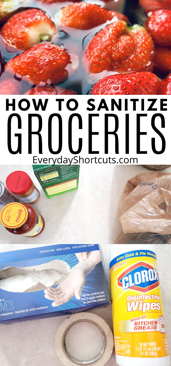 How to Sanitize Groceries Properly