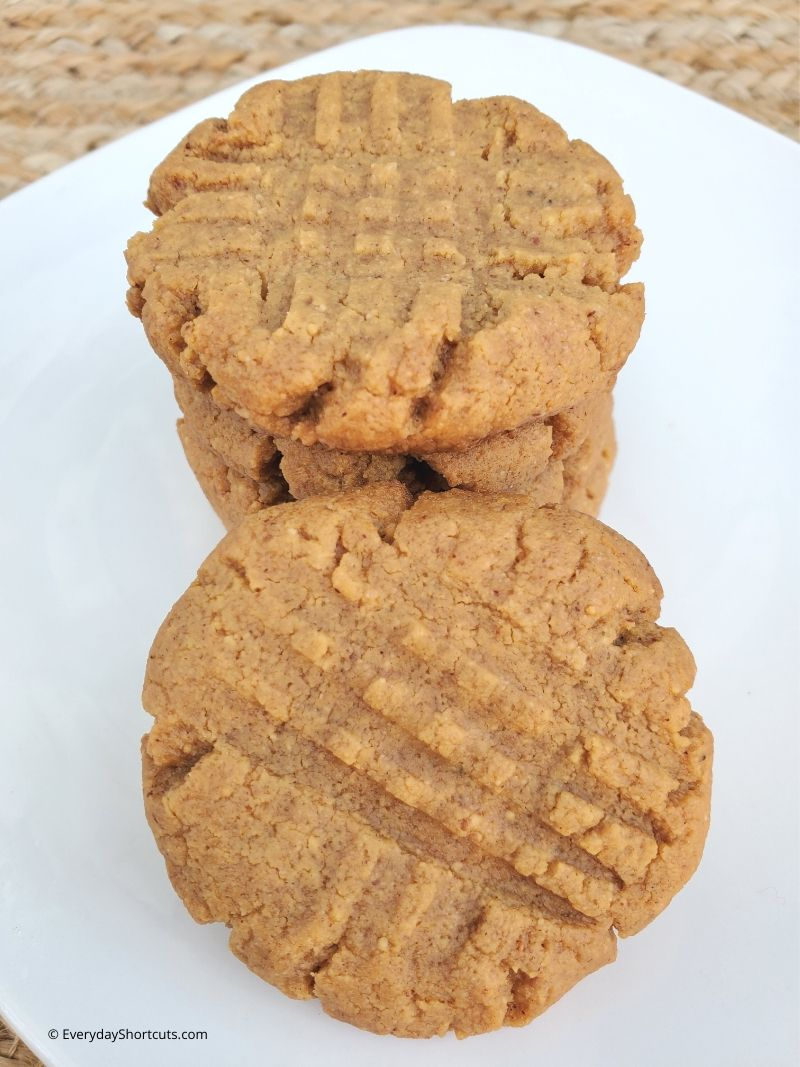 how to make 3 ingredient peanut butter cookies