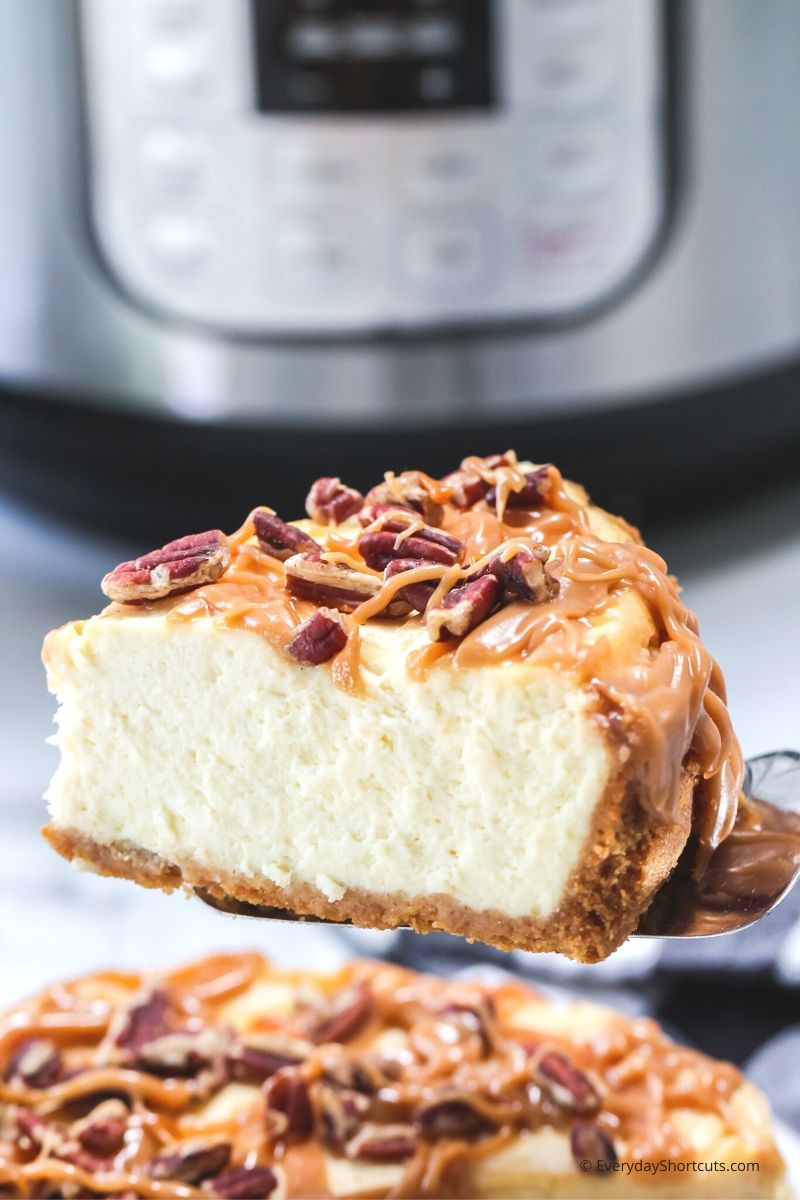 Salted Caramel Pecan Cheesecake