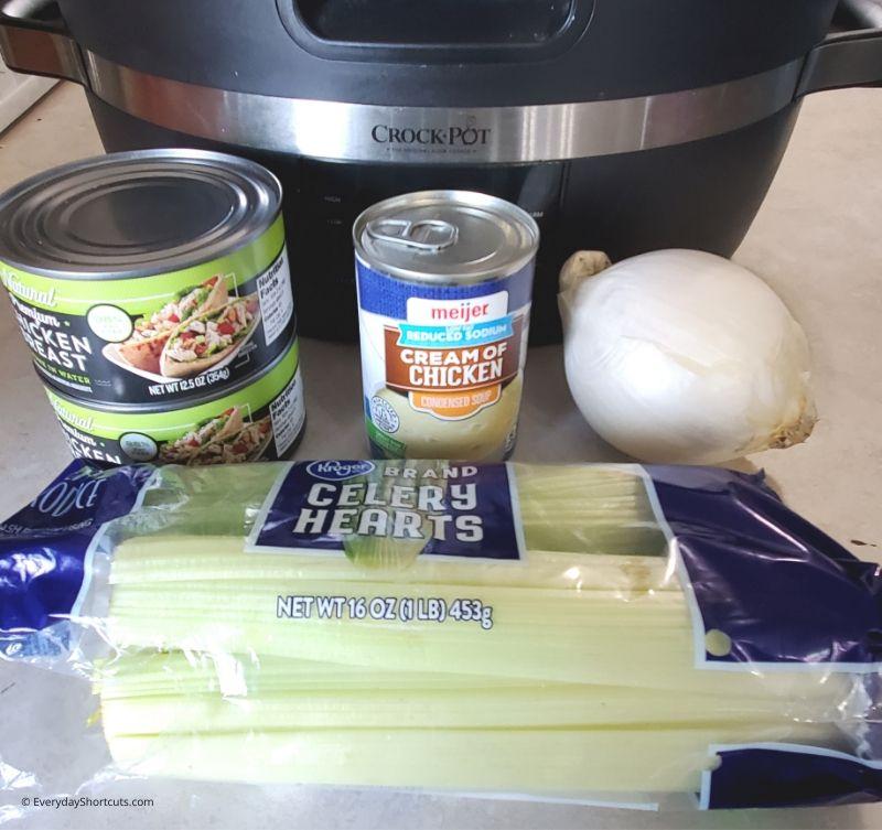 shredded-chicken-sandwiches-ingredients
