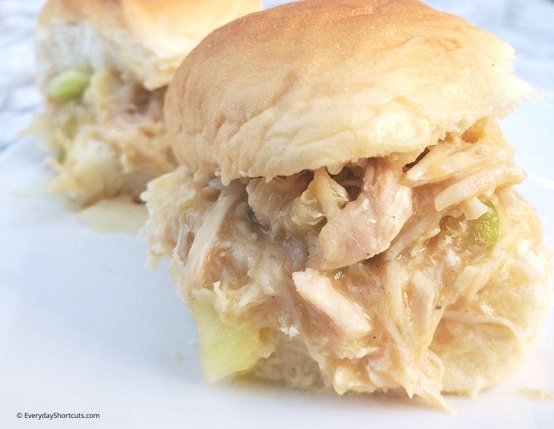 shredded-chicken-sandwiches