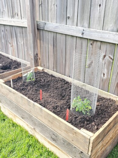 How to Build Raised Garden Beds from Wood Pallets ...