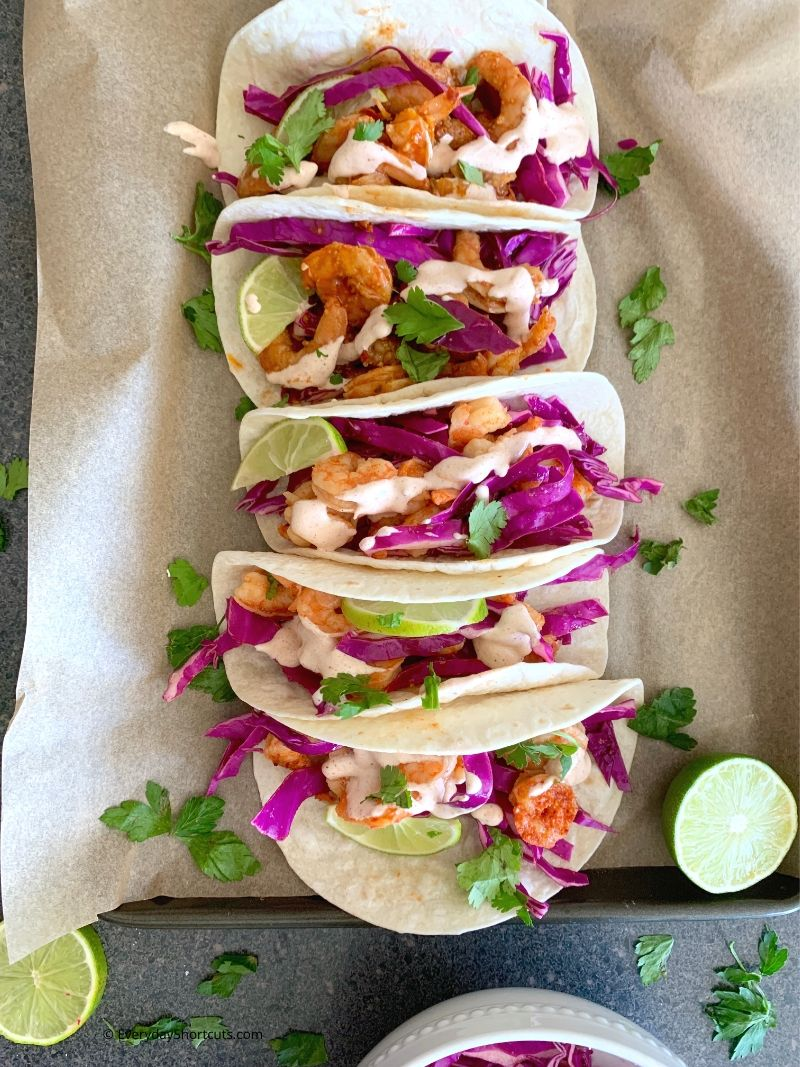 how to make Southwest Grilled Shrimp Tacos