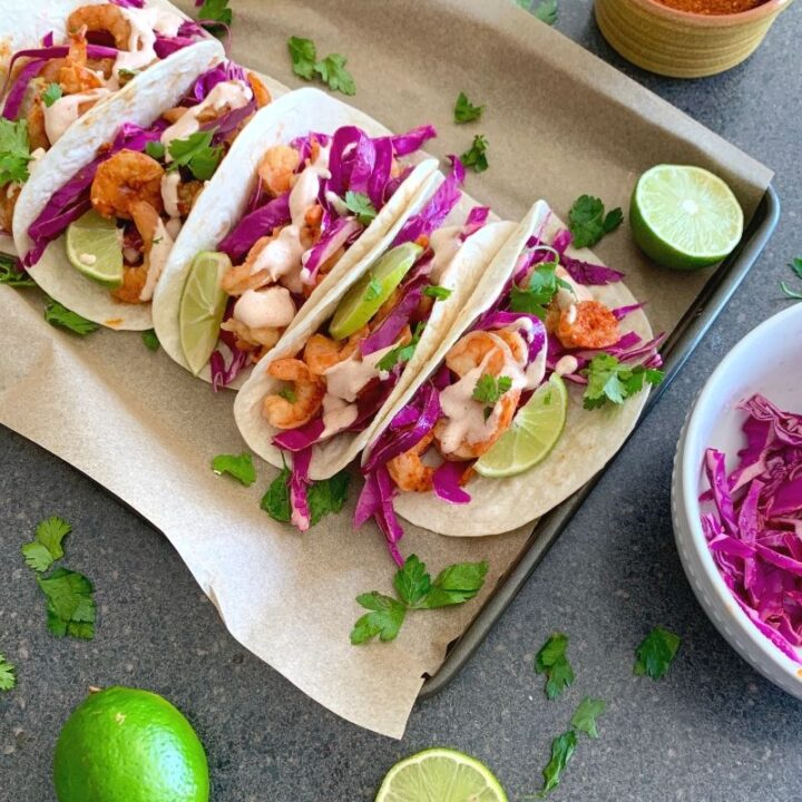 Southwest Grilled Shrimp Tacos