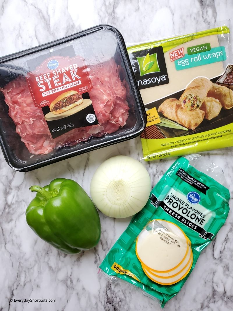 philly-cheesesteak-egg-rolls-ingredients