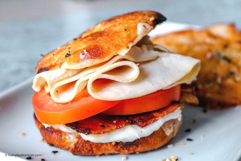 how to make a Keto Turkey Bacon Club