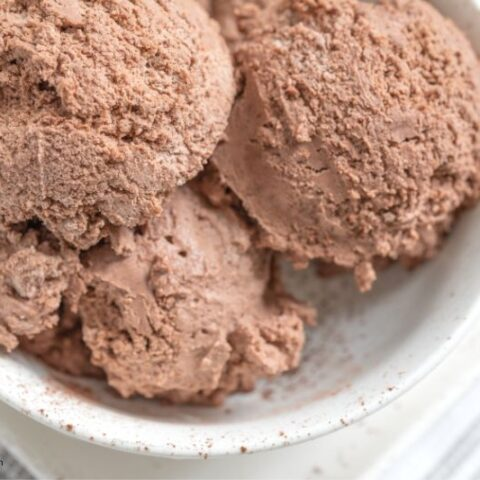 Keto No-Churn Chocolate Ice Cream