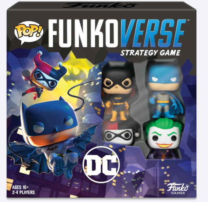 POP! FUNKOVERSE: DC Strategy Game Image