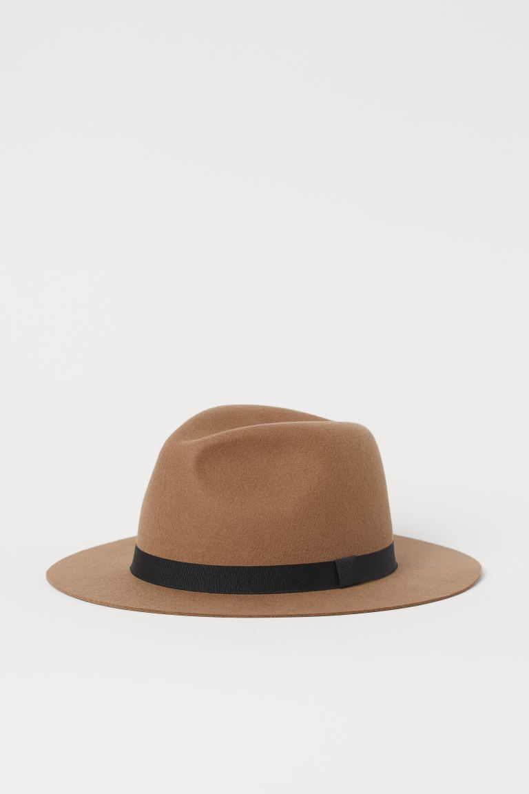 H&M Felted Wool Hat Image