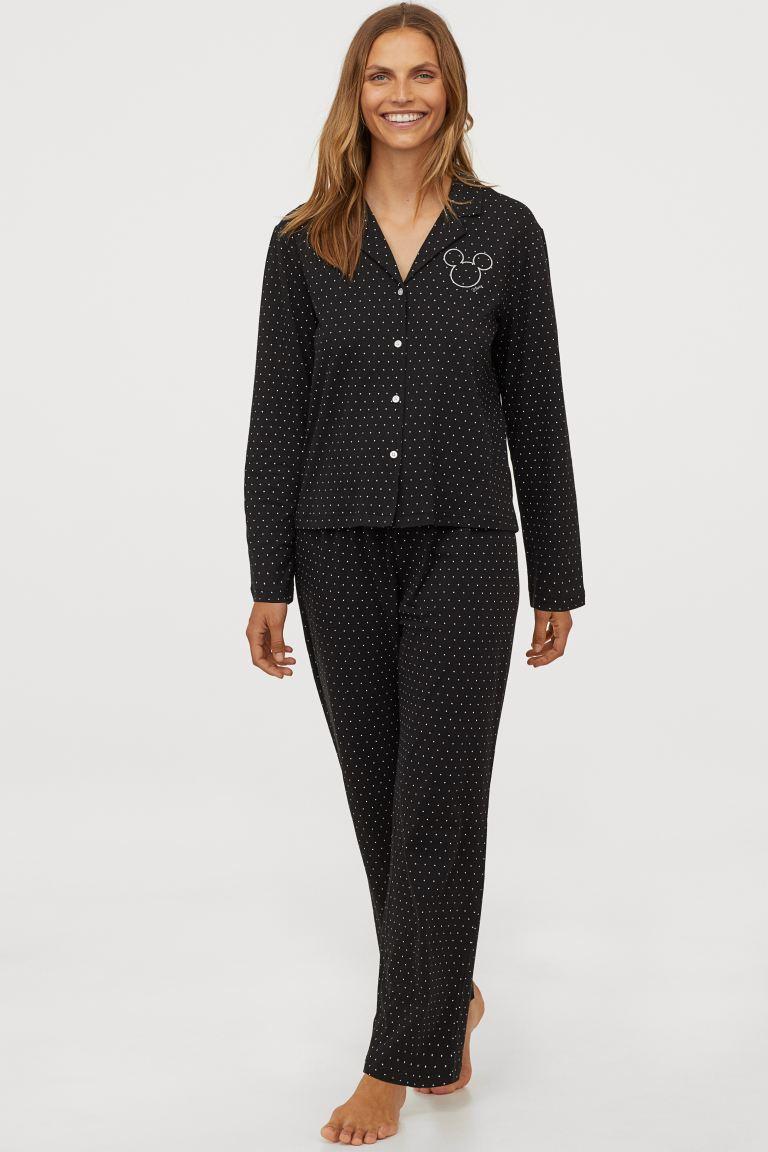 H&M Mickey Pajamas Image