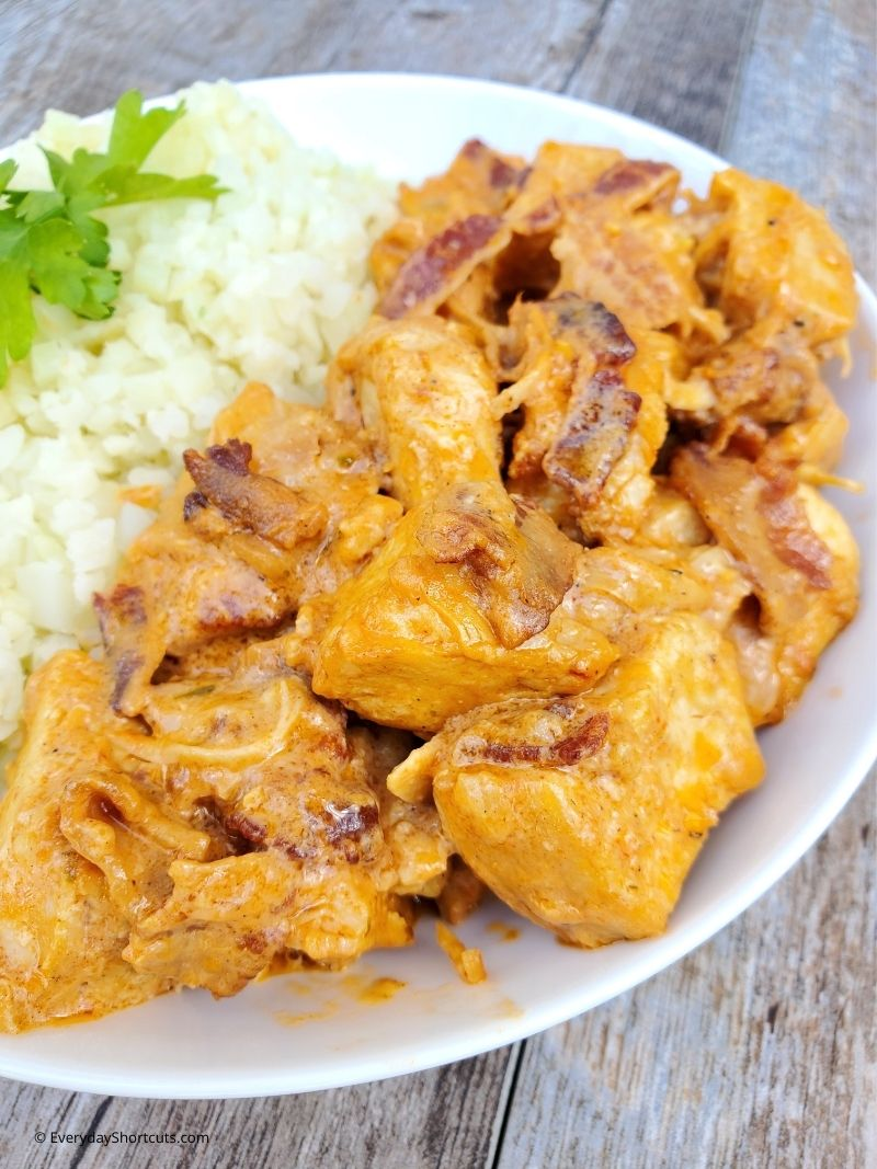 bacon butter chicken