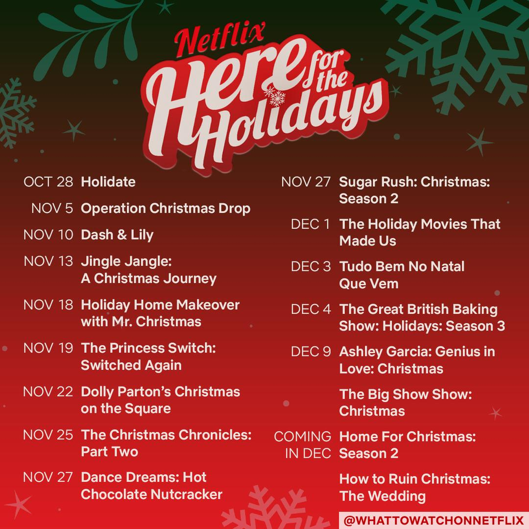 Netflix 2020 Holiday Movies & Shows Lineup