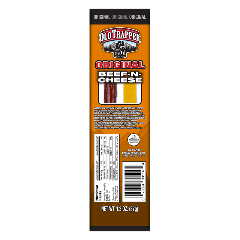 Old Trapper Beef & Cheese Snack Stick Image