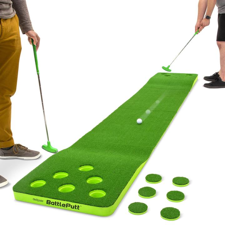GoSports BattlePutt Pong Inspired Golf Putting Game Image