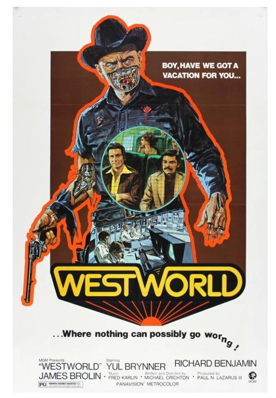 Vintage Prints Westworld Movie Poster Image