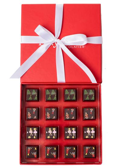 Delysia Chocolatier Nutcracker Collection Chocolate Truffles Image