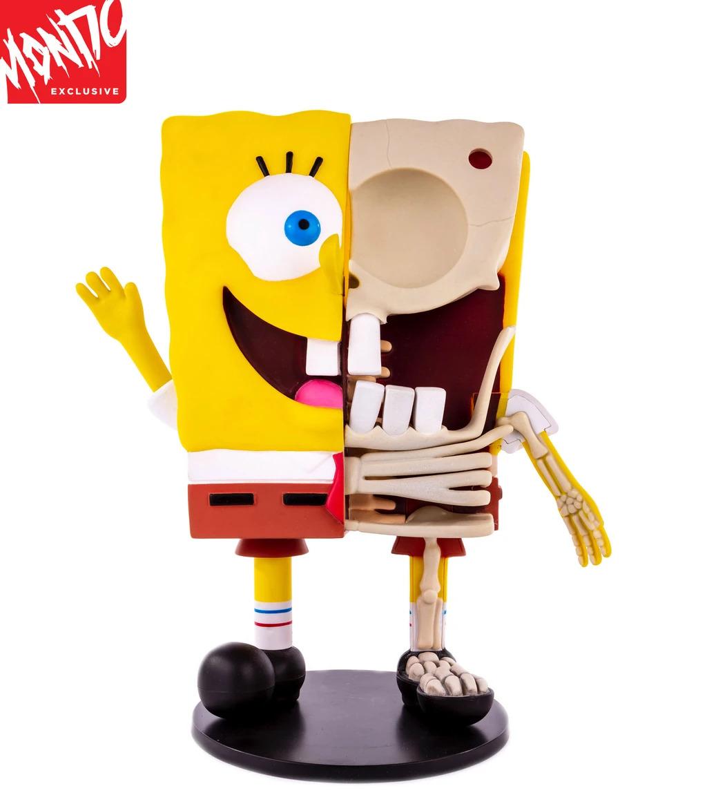 Mondo Spongebob Squarepants Dissected Vinyl Figure Image