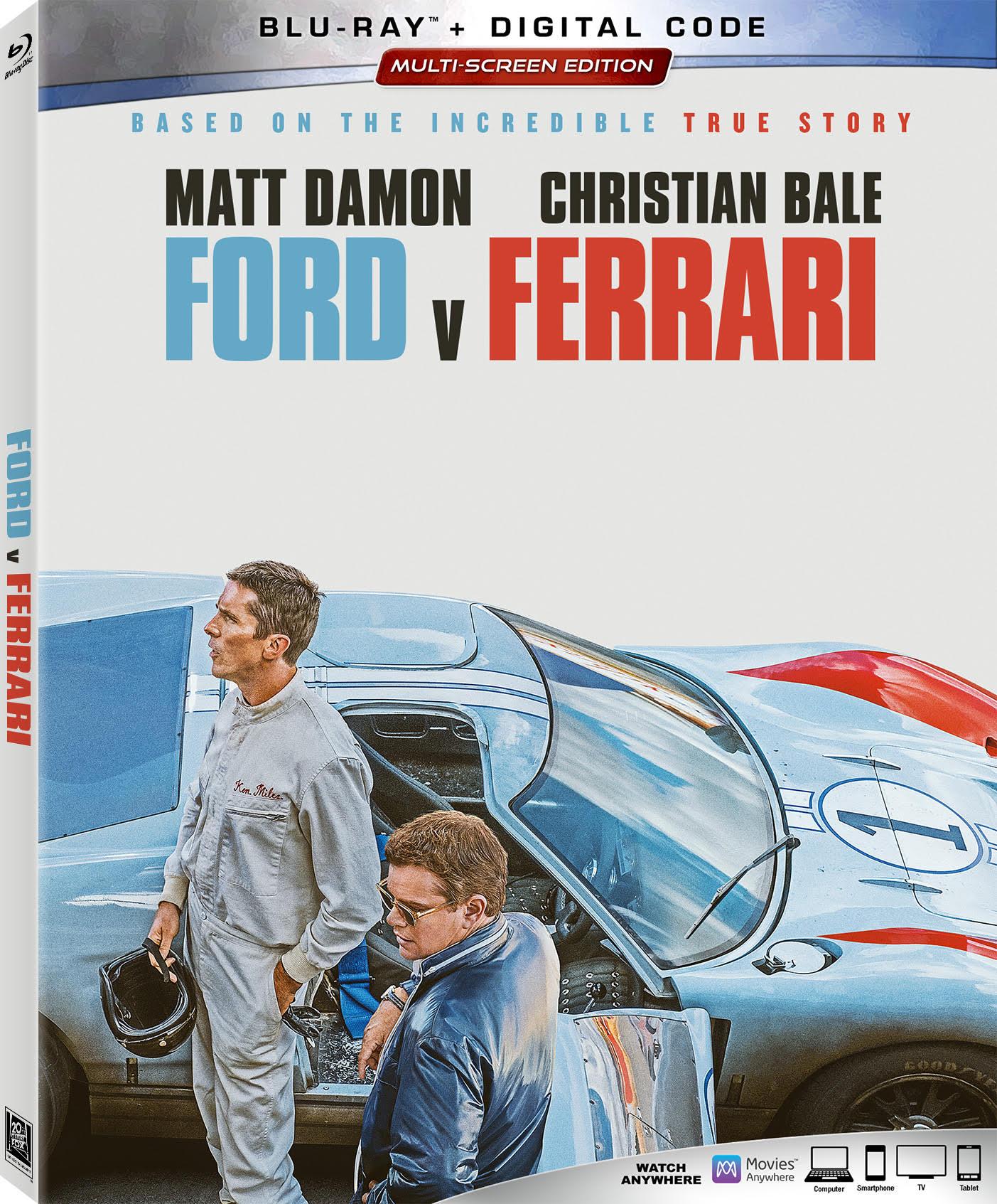 Ford v Ferrari Blu-ray Image