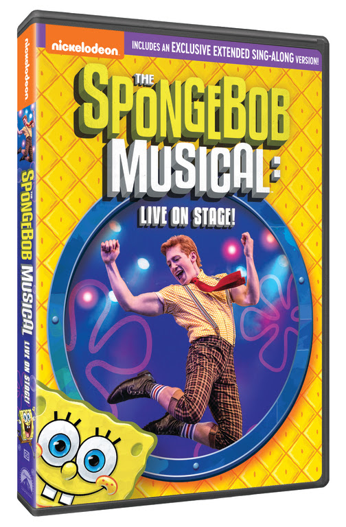The SpongeBob Musical: Live on Stage! DVD Image