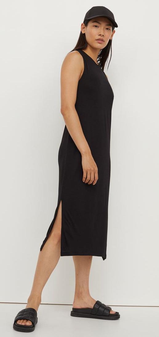H&M Sleeveless Jersey Dress Image