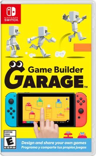 Nintendo Switch Game Builder Garage Image