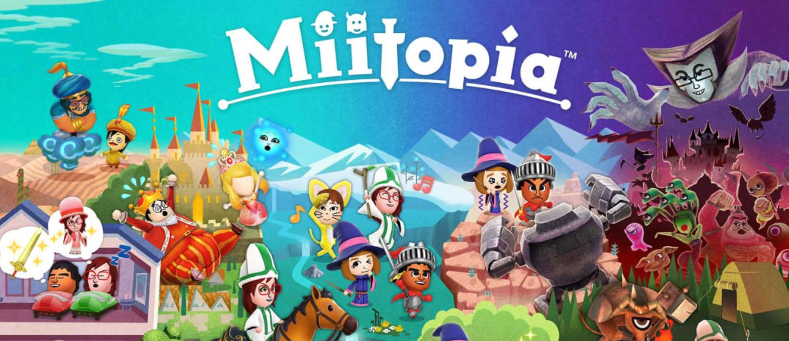 Nintendo Switch Miitopia Image