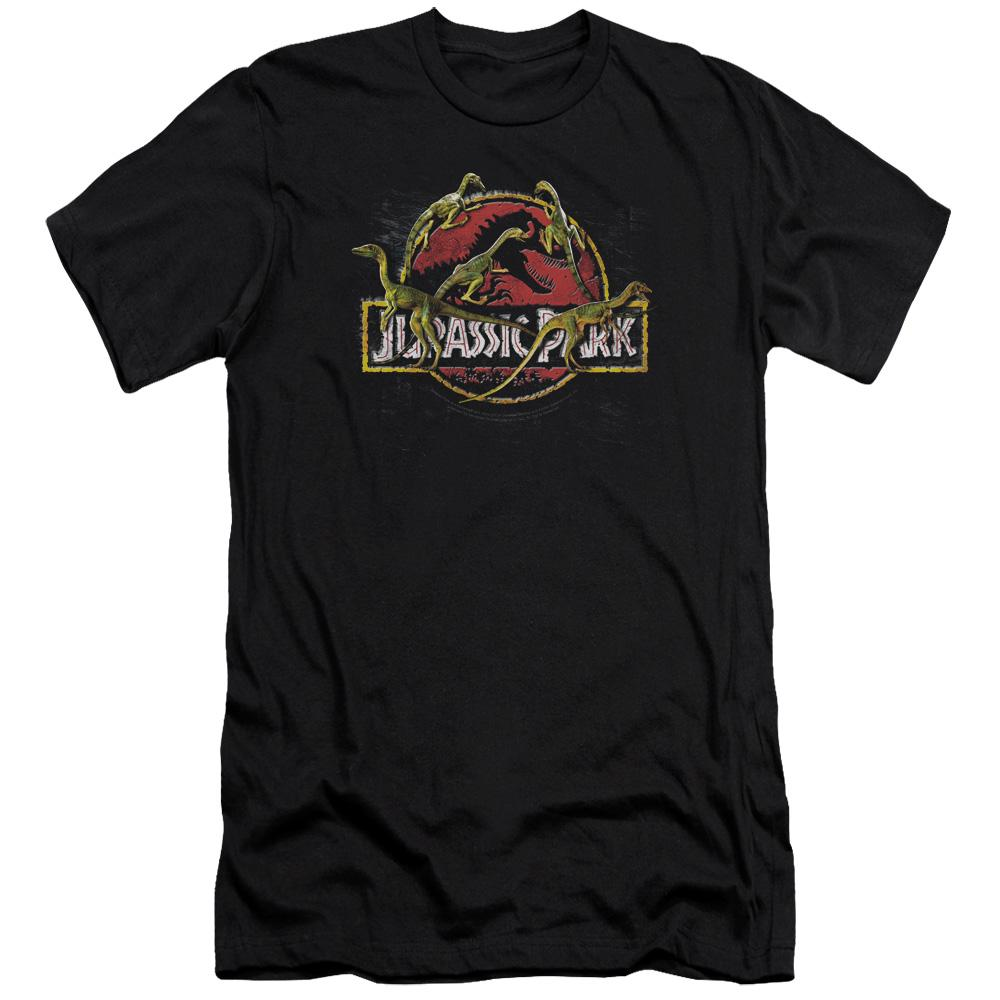 Pop Culture Apparel Jurassic Park Something Has Survived Shirt Image