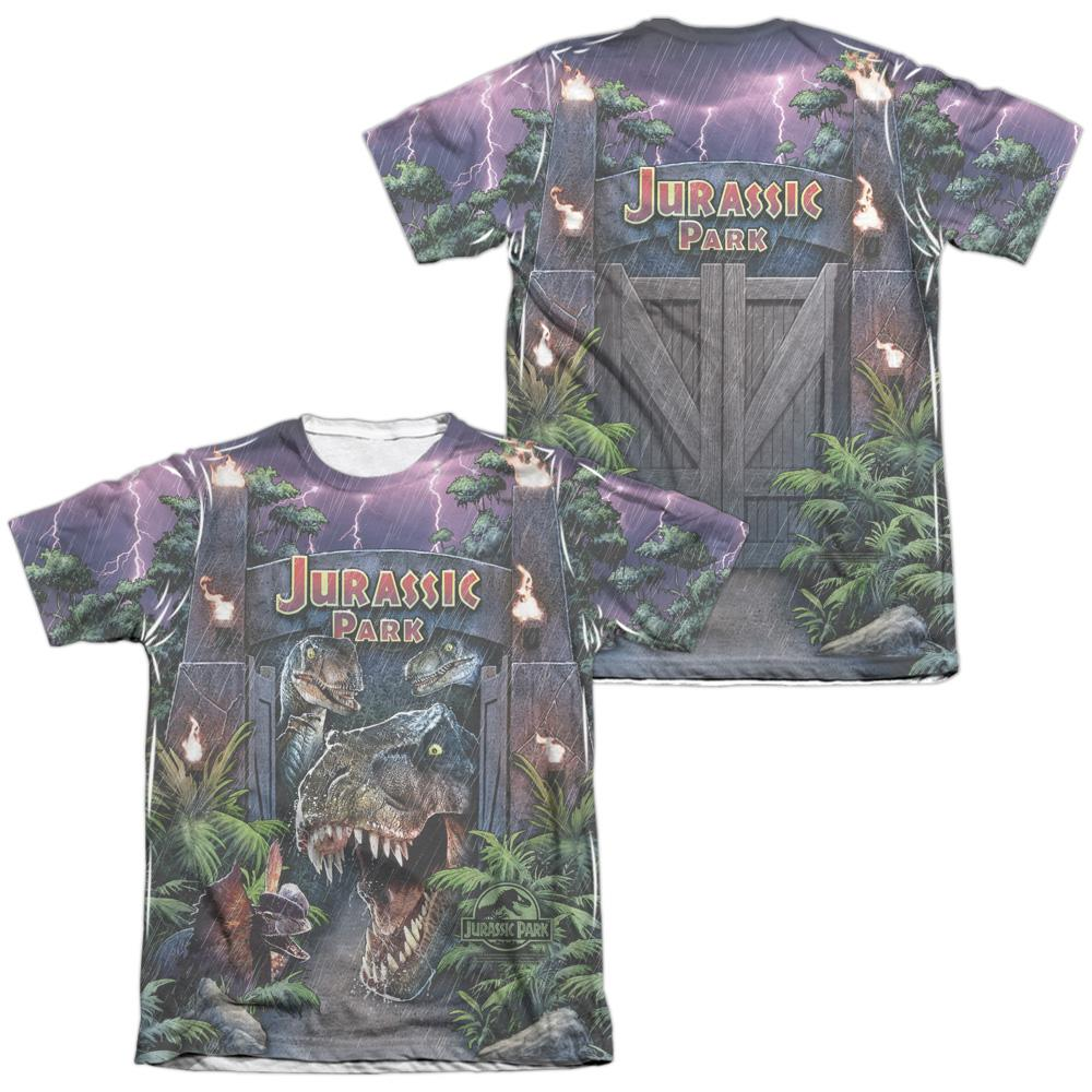 Pop Culture Apparel Jurassic Park/Welcome to the Park Shirt Image