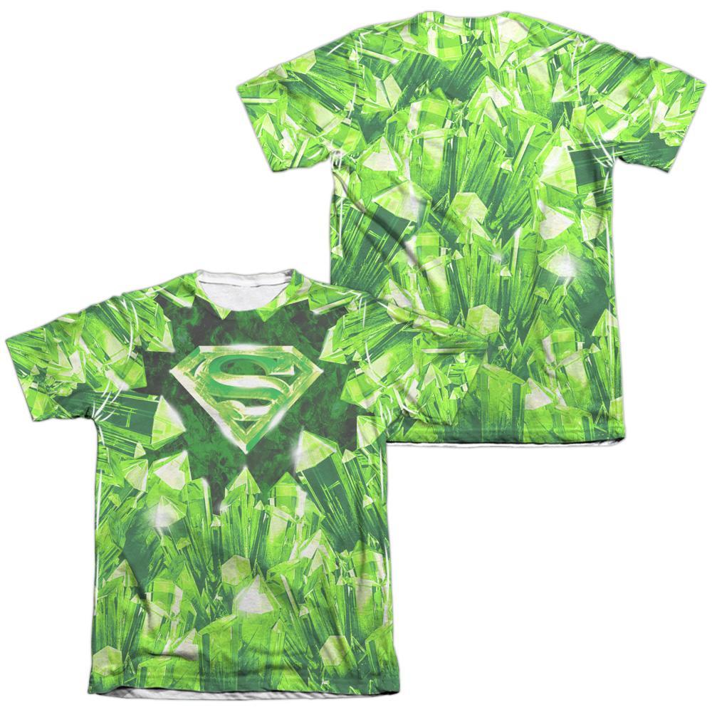 Pop Culture Apparel Superman Kryptonite Shield Shirt Image